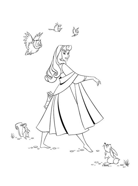 princess aurora coloring pages learn to coloring
