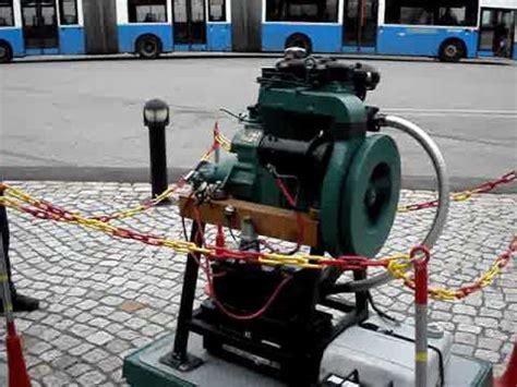 old diesel boat engine volvo penta diesel old marine engine 2 cylinder youtube
