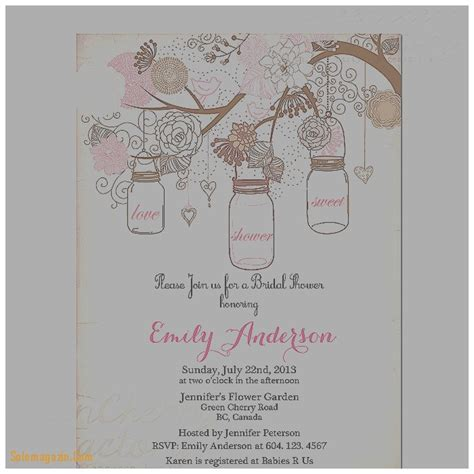 free printable vintage bridal shower invitations baby shower invitation inspirational free printable