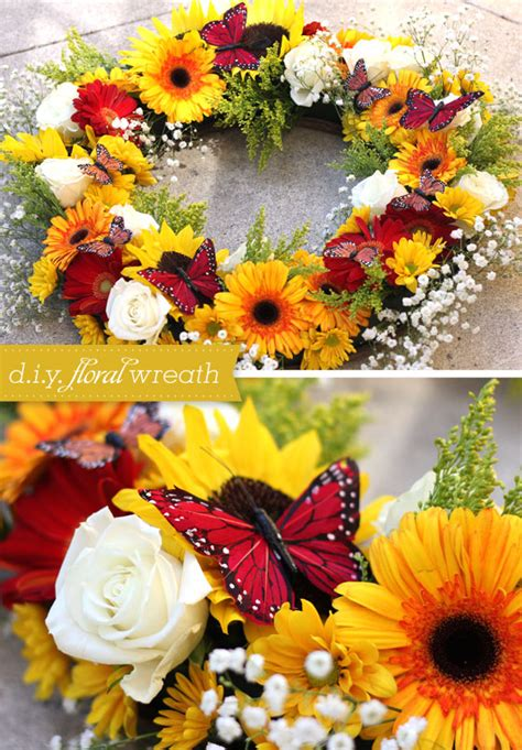 fresh floral heart diy tutorial diy projects by sarah hearts