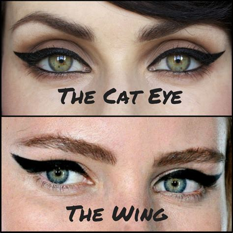 Cat Eye not to miss difference between winged and cat eyeliner