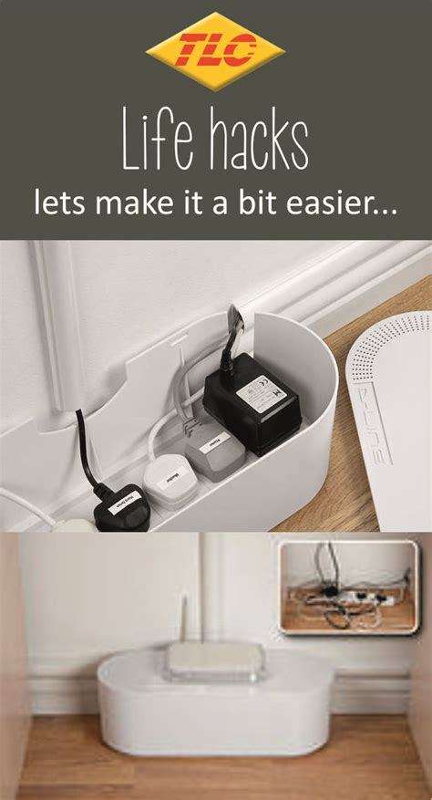 kabel verstecken box hide cable clutter in your home or office with these