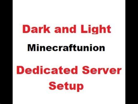 Dark And Light Dedicated Headless Server Setup For Windows
