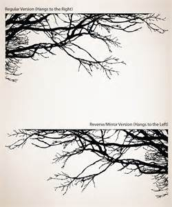 shadowy tree branches wall decal so that s cool 19 in tree branches peel and stick wall decals rmk1317gm