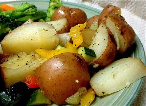 r potatoes vegetables mediterranean roasted potatoes and vegetables recipe