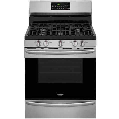 Lu Gas Proof shop frigidaire gallery 5 burner freestanding 5 cu ft self cleaning true convection gas range