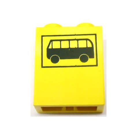 brick pattern exles lego brick 1 x 2 x 2 with black bus and frame pattern with