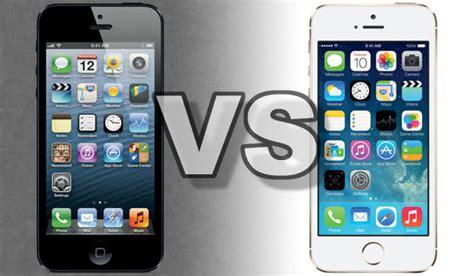 iphone 5 vs iphone 5s iphone 5s vs iphone 5