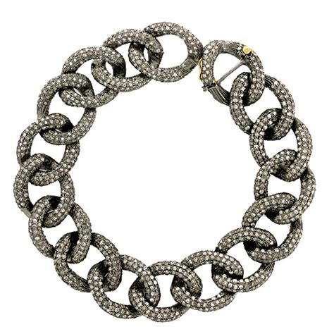 how to make pave jewelry pave 14k gold 925 sterling silver chain bracelet