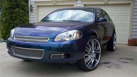 2006 blue chevy impala 2006nightmare 2006 chevrolet impalals sedan 4d specs