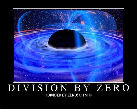 one divided by infinity multiplication by infinity division by zero