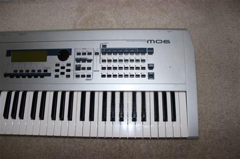Keyboard Yamaha Mo6 yamaha mo6 keyboard workstation 61 key mo 6 reverb