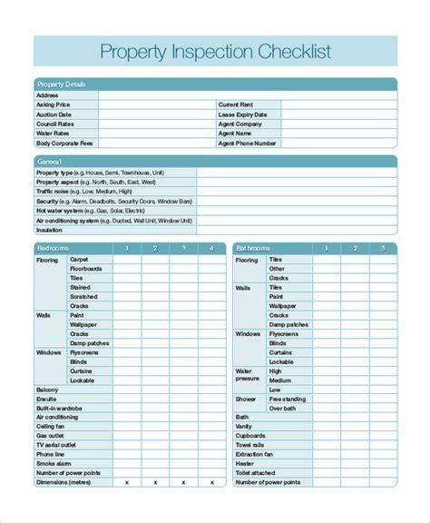hygiene inspection checklist