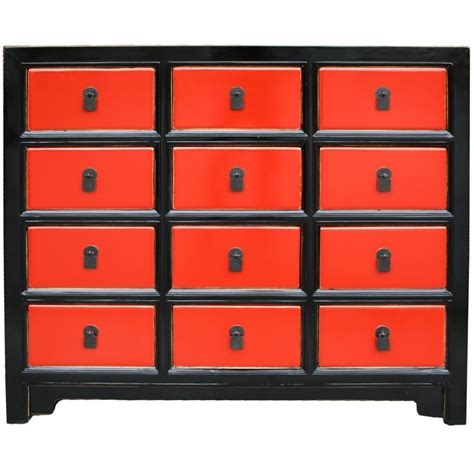 black chinese chest of drawers chinese antique cabinet