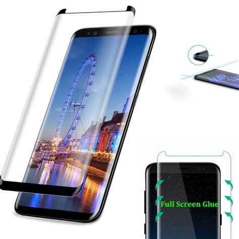 samsung galaxy  tempered glass full glue coverage screen