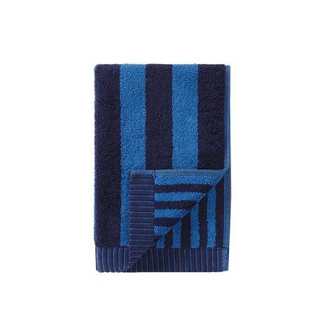 navy blue towels bathroom marimekko kaksi raitaa navy blue guest towel marimekko