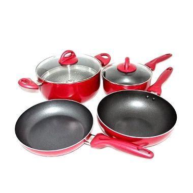 Panci Rosemary jual supra rosemary cookware panci set 7 pcs