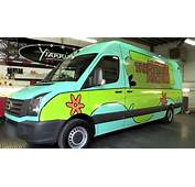 One Direction VW Crafter Van Gets The Mystery Machine Wrap