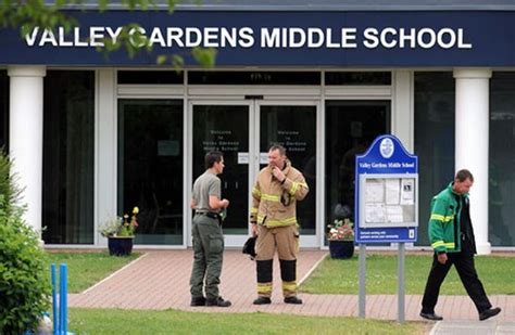 Garden Middle School by 20 Take Ill At Valley Gardens Middle School