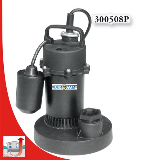 Replace Lava L Liquid by Burcam Water Out Pumps And Systems Submersible Sump 1 4hp 115v Switch