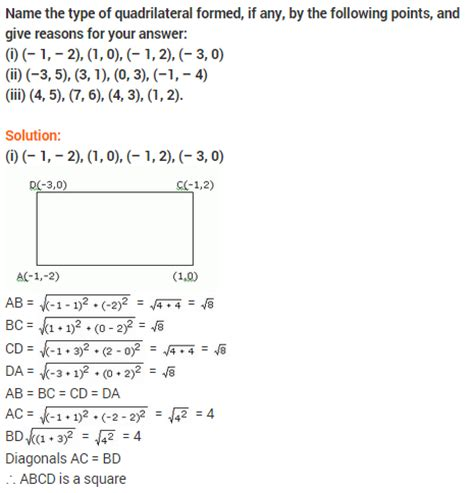 Analytic Geometry Grade 10 Worksheets by Coordinate Geometry Worksheets Grade 10 Coordinate