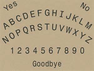 How To Make Ouija Board Out Of Paper - printable talking ouija board this page intentionally