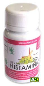 Herba Histaminic Herbal Alergi Gatal Cacar 187 herbal formulasi toko herbal amwah
