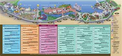 map of downtown disney new downtown disney guide map photo 1 of 1