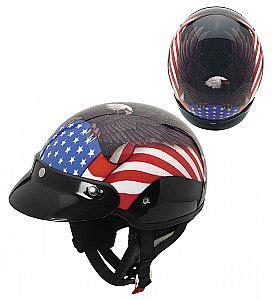 Helm Agv Half Agv Thunder Half Helmet Eagle Flag