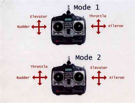 one modes how to choose rc transmitter for quadcopter oscar liang