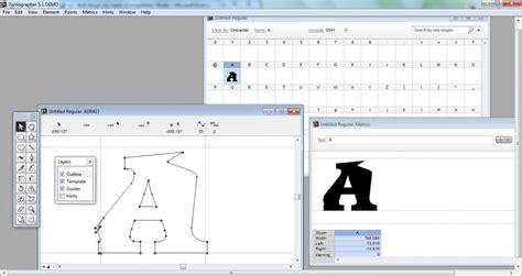 font design software windows list of font creation software