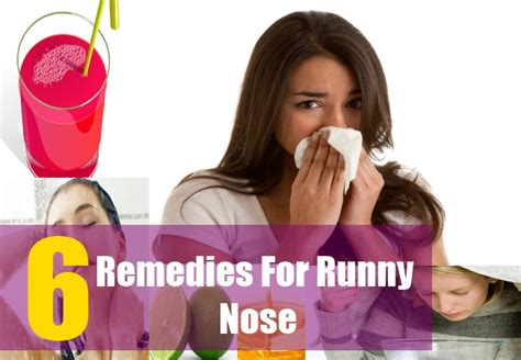 how to cure runny nose home remedies for runny nose
