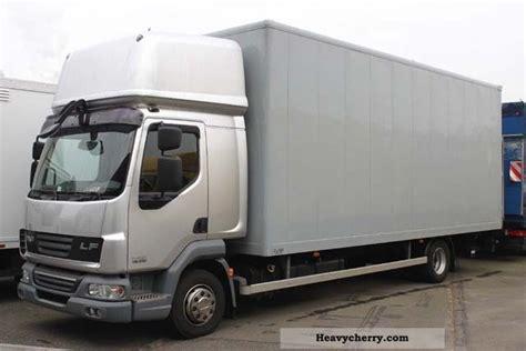 Sleeper Box Truck by Daf Lf 45 250 Fh Sleeper Furniture Lbw E4 2009