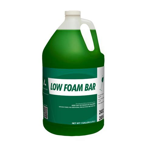warewashing must be done in a 3 compartment sink low foam bar advantage chemical llc