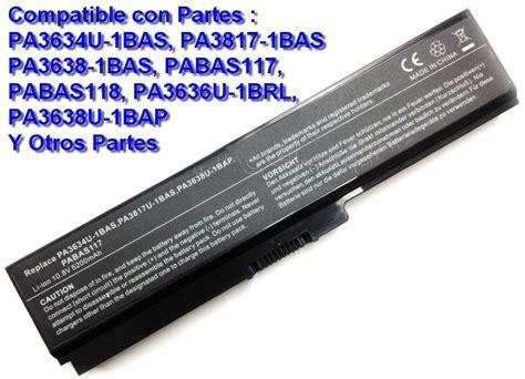 Baterai Toshiba L515 L630 L635 L640 L645 L650 M300 Oem Kw Grade bater 237 a toshiba pa3634u pa3635u pa3817u pa3638u pabas117