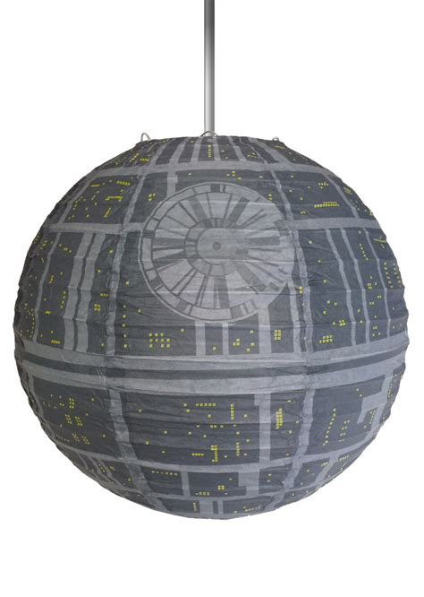Star Wars Death Star 30cm Paper Light Shade Groovy Uk Ltd Wars Light Fixture