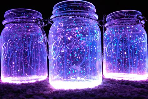 glow in the paint jar glitter cheri s creation s how to make glowing celestial