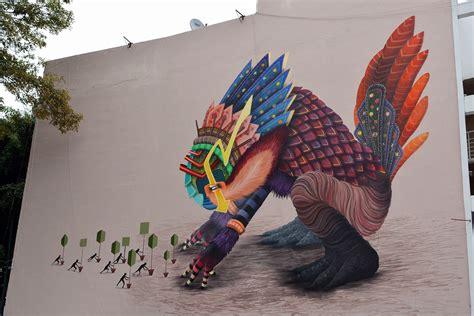 imagenes murales urbanos el curiot street art the coolector
