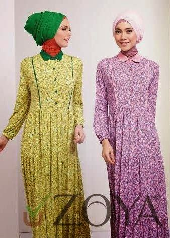 Fadiya Dress By Zoya Fashion gamis zoya terbaru modern dress zoya