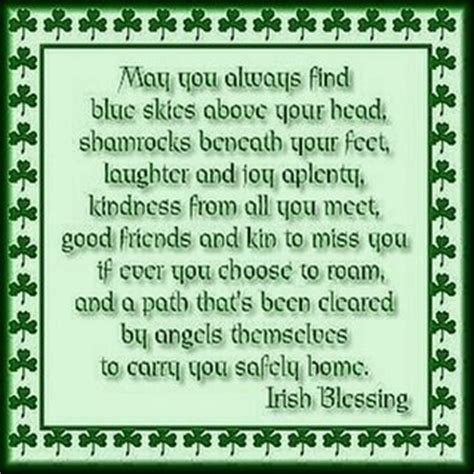 a st patrick s day blessing hospice matters