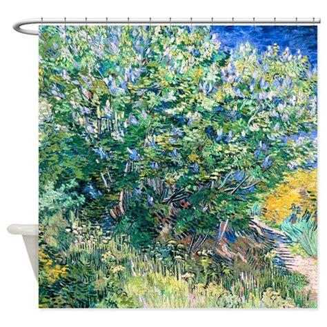van gogh shower curtain van gogh lilacs shower curtain by designdivagifts2