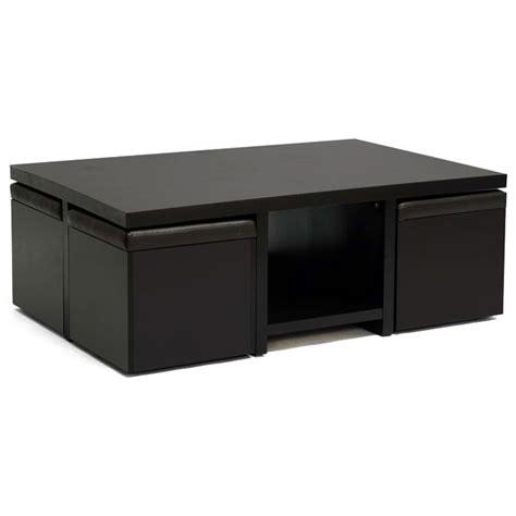 kitchen table prescott wi prescott modern table and stool set with storage
