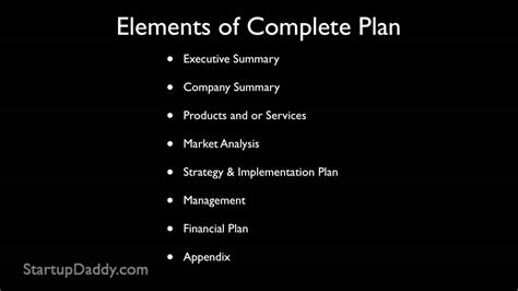 setting up a business plan template how to write a business plan how to start a business