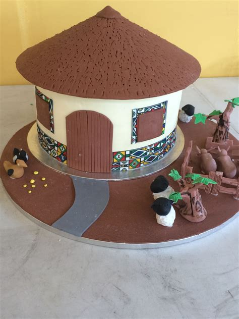 Decorating Cakes At Home by The Ndebele Traditional Wedding Cake Cakecentral Com