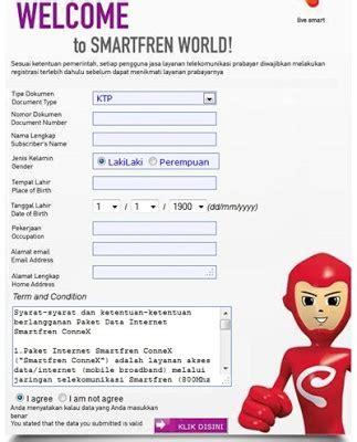 kode internet terbaru kartu three cara terbaru registrasi daftar kartu perdana smartfren