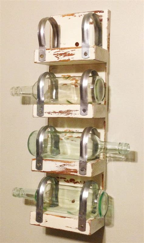 Wine Rack For Towels by Distressed Wine Rack Towel Holder Wine Shelf