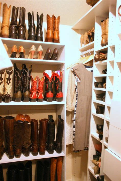 organizing boots in closet 30 clever boot storage ideas pretty designs