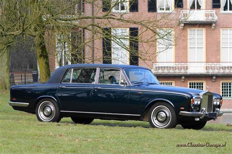 Classic Interior Rolls Royce Silver Shadow Lwb 1969 Details