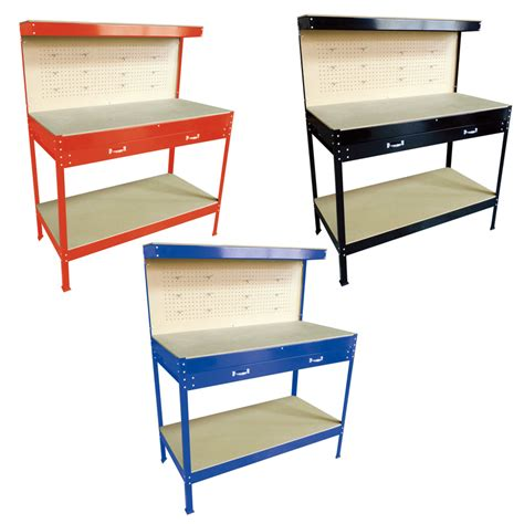 garage workbench with drawers uk heavy duty workbench for garage workshop shed tool box