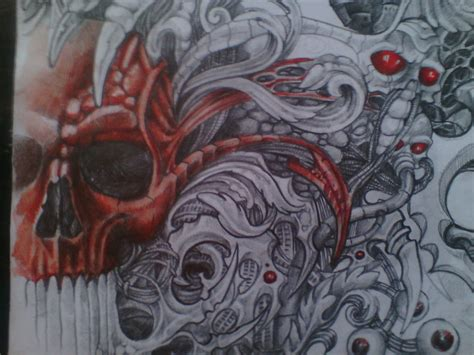 biomechanical tattoo artists biomechanical paintings